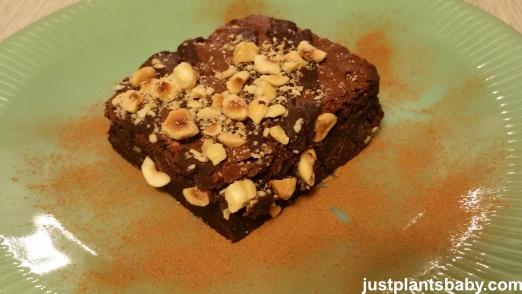 Hazelnut Chocolate Brownie
